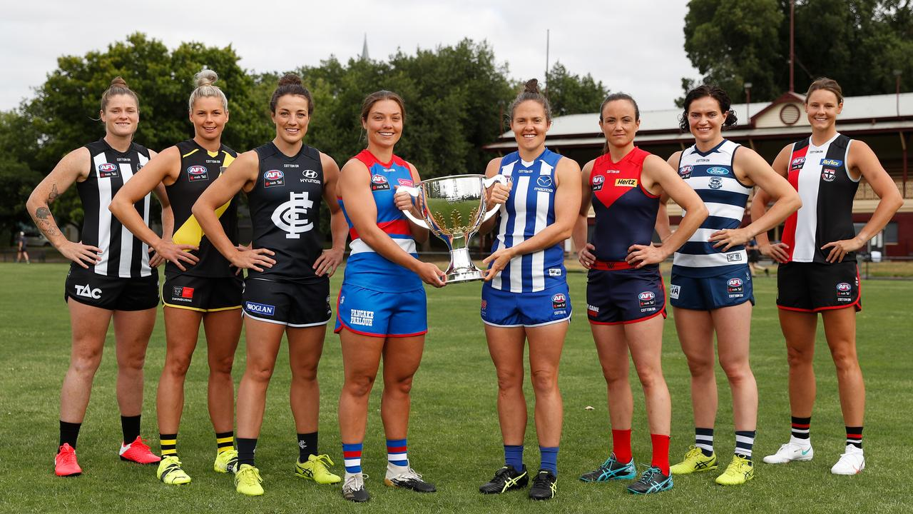 The latest AFLW fixture has been revealed. Photo: Michael Willson/AFL Photos via Getty Images.