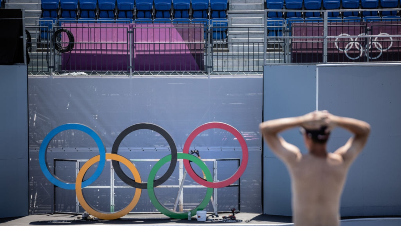 The Tokyo Olympics are currently underway. Picture: Carl Court/Getty Images