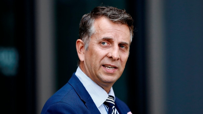 The NSW Minister for Transport Andrew Constance reiterated that Premier Gladys Berejiklian's benchmark of 80 per cent of the population fully vaccinated against COVID would allow the state to live with the virus. Picture: Getty Images.