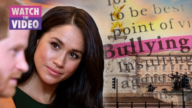 Meghan Markle 'saddened' by bullying claims as Buckingham Palace launches investigation