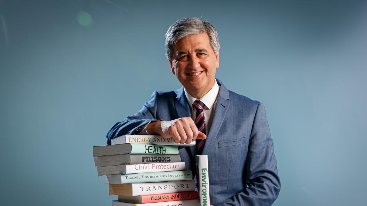 Rob Lucas, Treasurer of South Australia. Picture MATT TURNER.