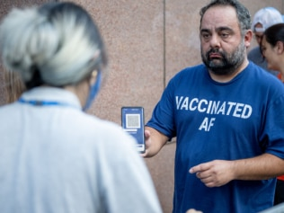'It's a huge relief NYC is implementing proof-of-vaccination for some venues'. Image: Getty