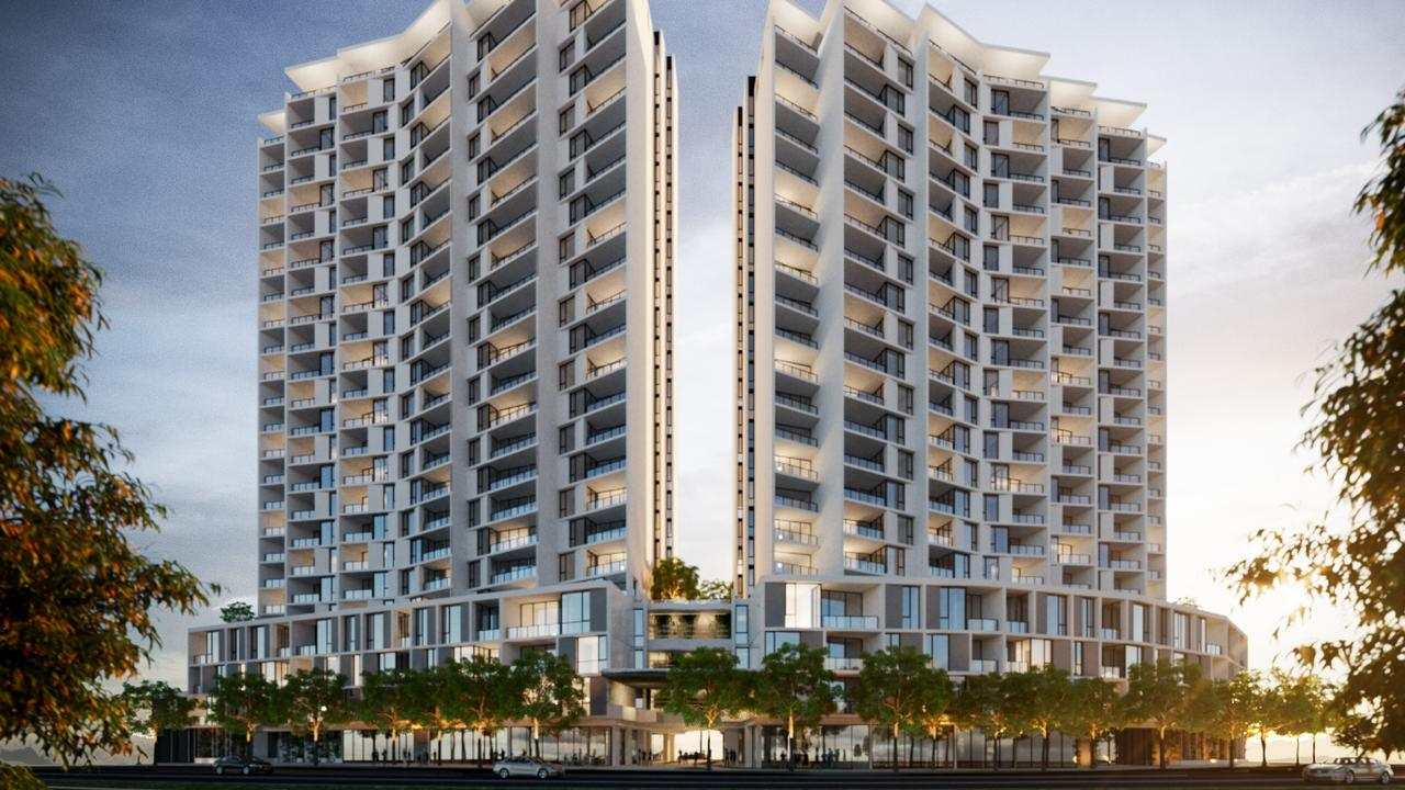 LIV Newstead in Brisbane, will be one of the next of Mirvac's build to rent properties.