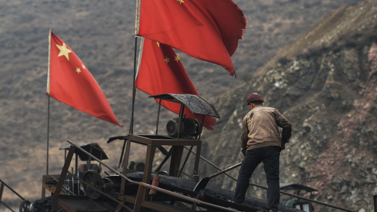 China is suffering its coldest winter in more than 50 years, but coal supplies are running low. Picture: Greg Baker/AFP