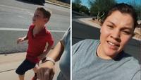 Mum slammed for making 5-year-old run as punishment