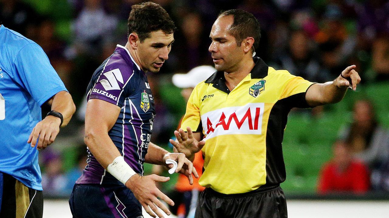 Billy Slater is a fan of one referee.