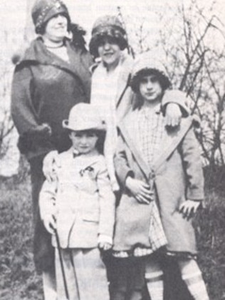 Fish murdered Grace Budd (above with her family) and then wrote her mother a letter about eating the 10-year-old.