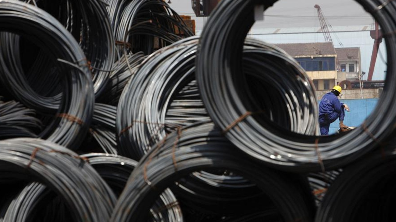 China's steel market is being keenly watched by iron ore backers. Picture: Qilai Shen/Bloomberg News