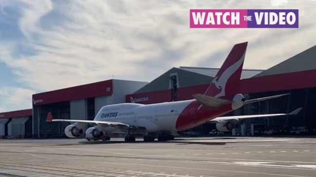 Qantas farewells 'Queen of the Skies'