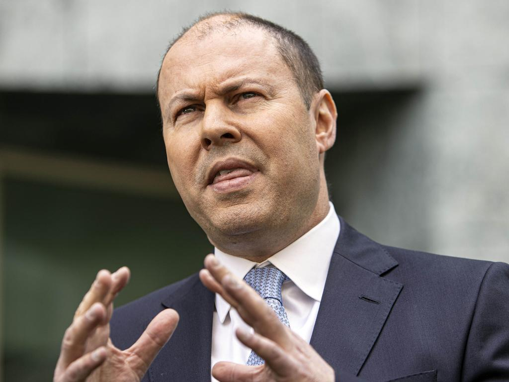 Treasurer Josh Frydenberg says the Reserve Bank is independent and Mr Keating shouldn't be attacking the bank like he has. Picture: NCA NewsWire / Gary Ramage