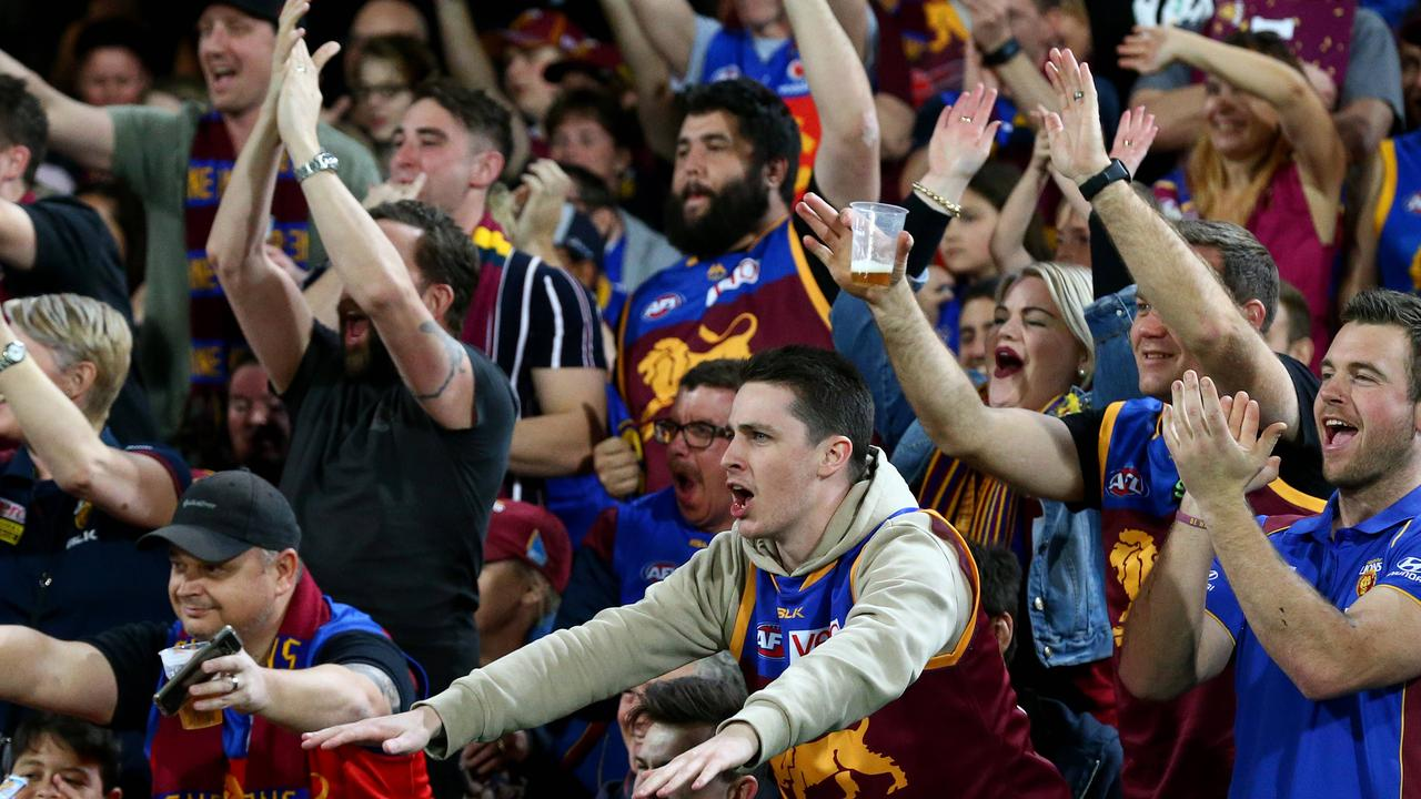 Up to 10,000 fans will return to the Gabba this week (Pic: Adam Head).