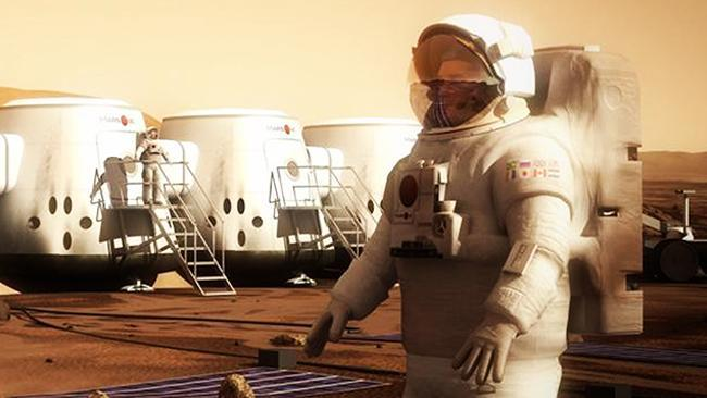 Mars One designs new spacesuit for mission