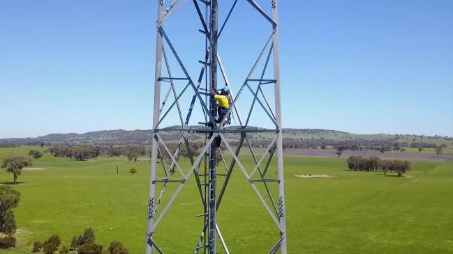 NBN employee goes to great heights