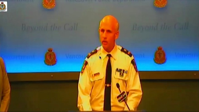 Vancouver Police presser on the death of Cory Monteith