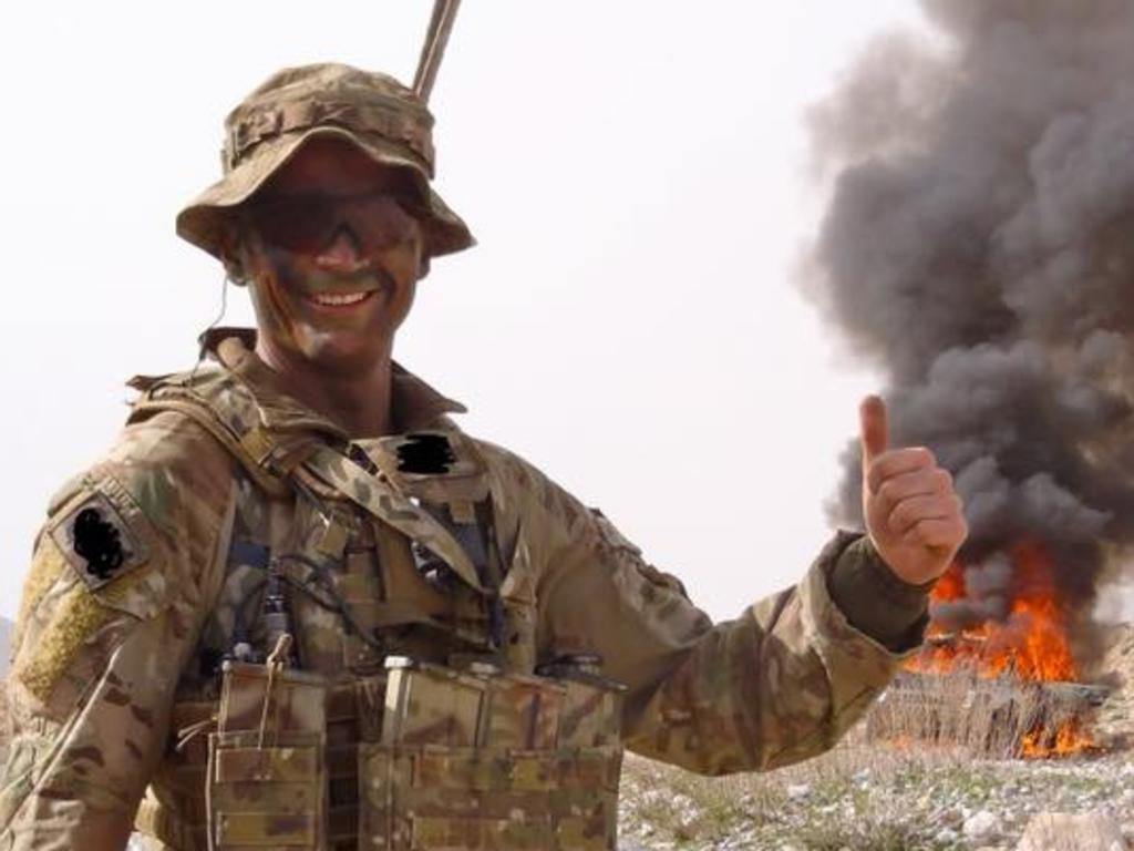 Corporal Ian Turner was demoted from his rank of Sergeant after his last Iraq tour.
