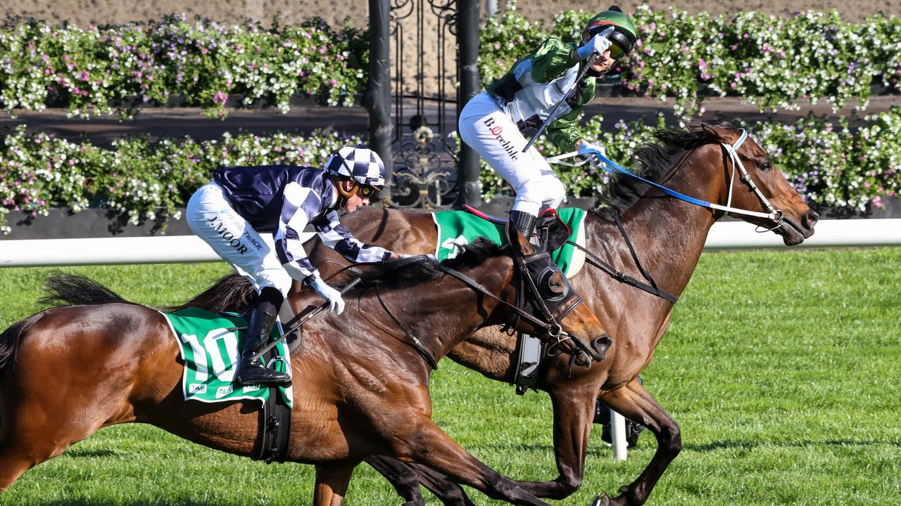 Young Werther also caught the eye when he finished second to Incentivise in the Turnbull Stakes. Picture: Racing Photos via Getty Images
