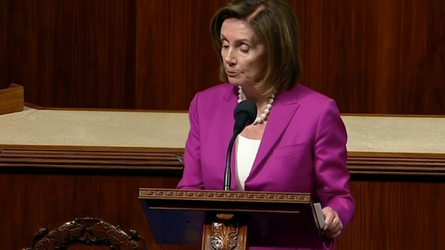 "Trump's ""disgraceful and disgusting"" remarks are racist: Nancy Pelosi"