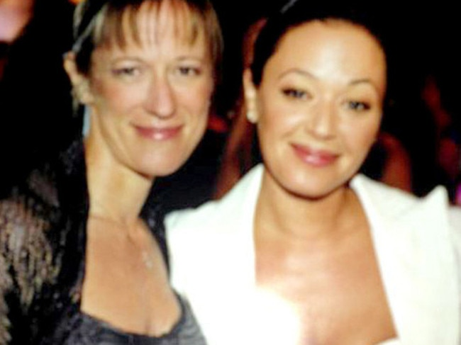 Shelly Miscavige pictured with formerly close friend, actress Leah Remini. Picture: Supplied
