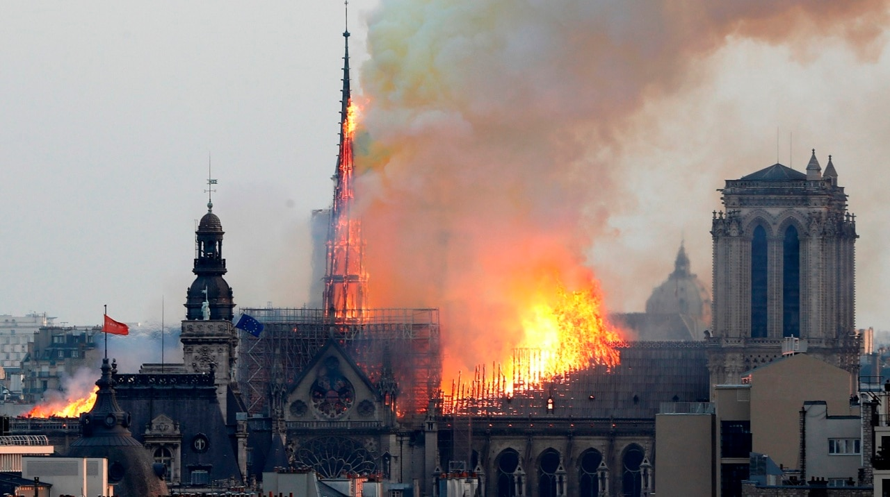 Notre Dame fire investigation rules out criminal involvement
