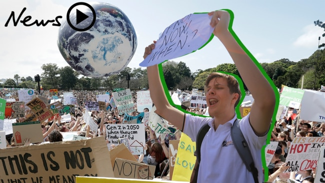 """Everything is going to die""  Thousands protest against climate change"