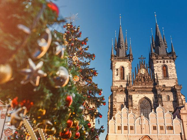 WHY GO: The imposing gothic building (Church of Our Lady before Týn) that stands tall over the Old Town square, giving the markets their extra bold atmosphere.