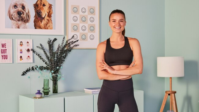 Getting the motivation to workout when it's chilly outside can be an uphill battle. Laura Henshaw shares her tips. Image: Supplied