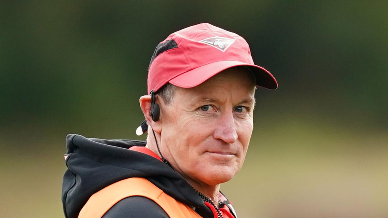 John Worsfold is looking forward to spending more time with his family. Photo: AAP Image/Scott Barbour