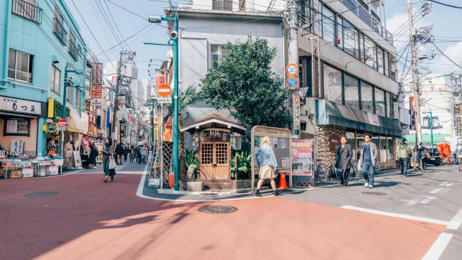 Famed for its vintage shops, retro demeanour and bohemian outlook, Shimokitazawa is a thrift-shopper's dream. It's also known as one of Tokyo's best places to grab a steaming bowl of ramen - slurp up!