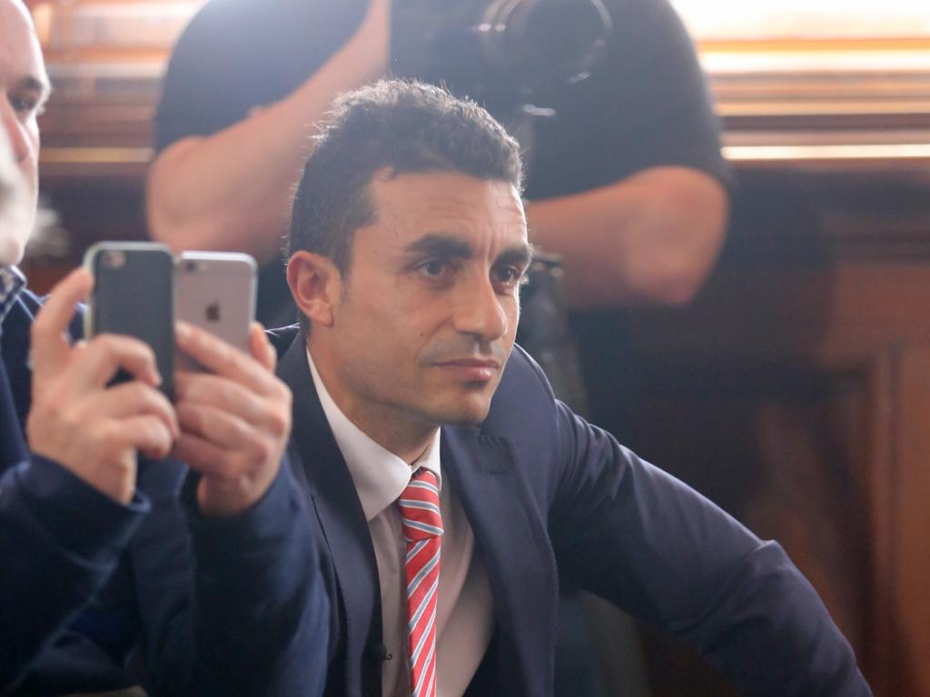 Mr Massoud's threat to sh-t down the neck of a young reporter was 'repugnant', Judge Gibson found. Picture: John Grainger