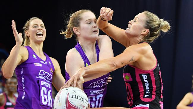 The Thunderbirds snatched a first-quarter draw. Picture: AAP