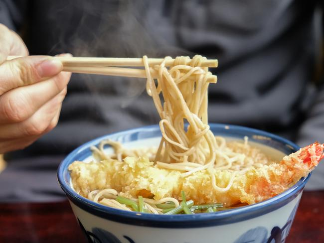 EATING ETIQUETTE Slurp your noodles, it shows you like them. And never ask for seasoning.  — Candice Marshall  WHY I FELT CHEATED AFTER VISITING JAPAN
