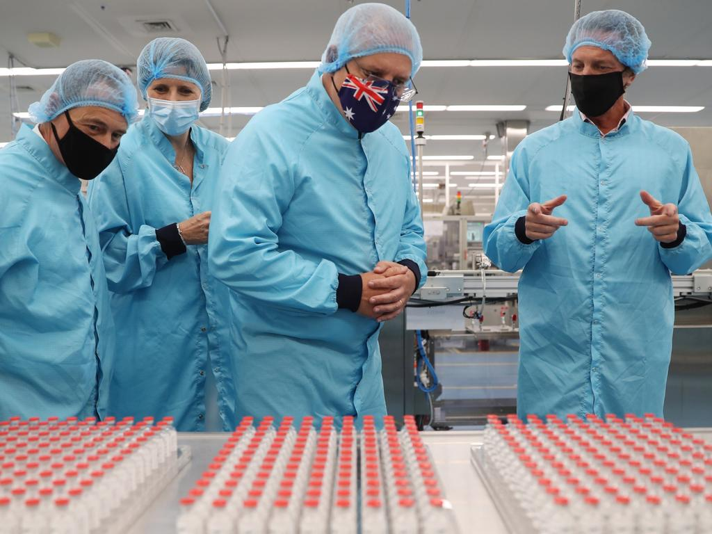 A million doses of the AstraZeneca vaccine are in vials ahead of the jab being rolled out at the end of the month. Picture: Adam Taylor