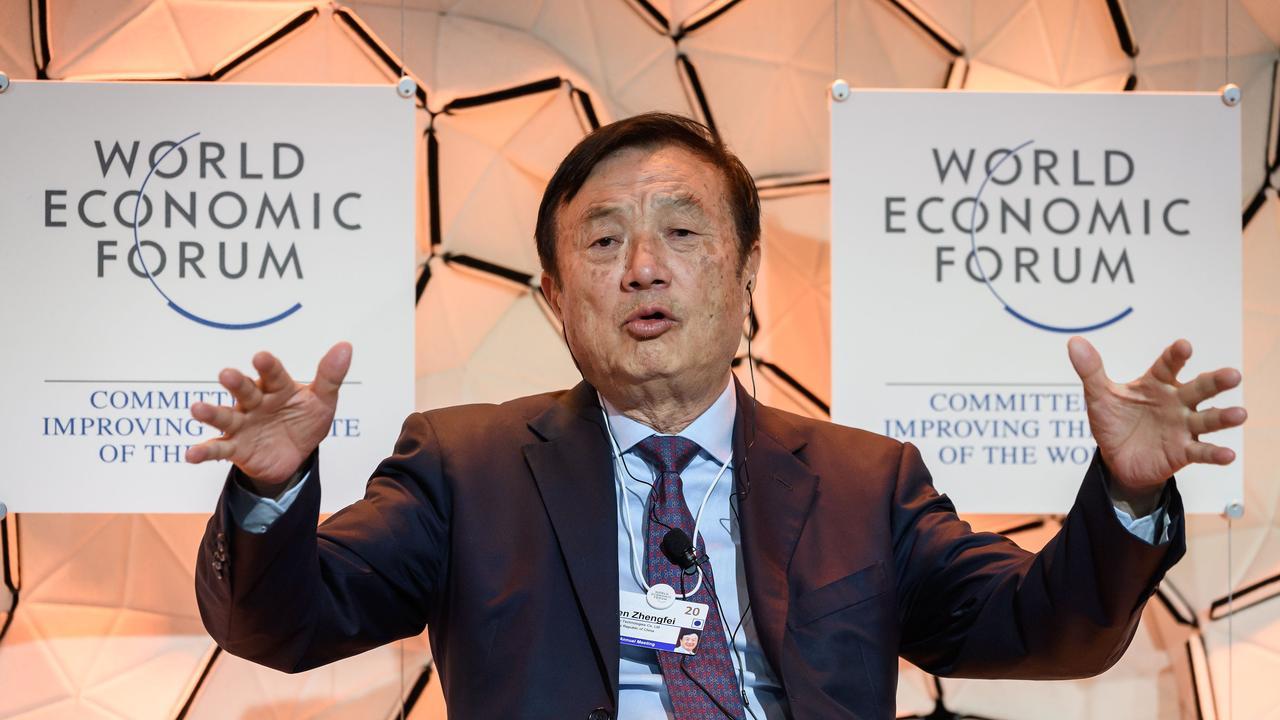 Meng Wanzhou is the daughter of billionaire and Huawei CEO Ren Zhengfei. Picture: Fabrice Coffrini/AFP