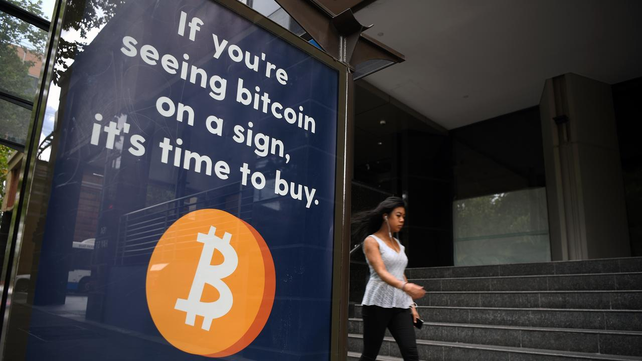 Banks have debanked consumers over concerns with cryptocurrencies such as Bitcoin. Picture: NCA NewsWire/Joel Carrett