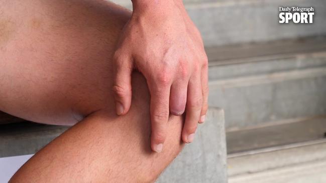 Angus Crichton: No finger, no worries