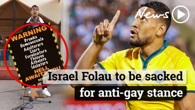 Israel Folau: Rugby star to be sacked
