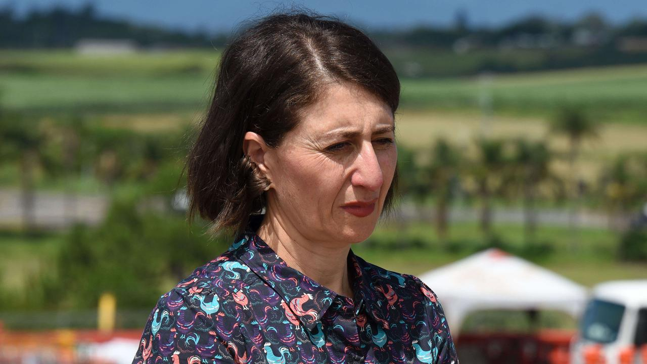 The Stronger Communities Fund has become a lasting headache for Gladys Berejiklian. Picture: NCA NewsWire / Steve Holland