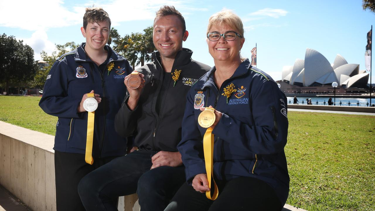LAUNCH of the INVICTUS GAMES SYDNEY 2018 MEDAL DES