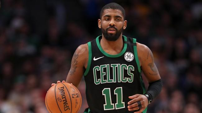 Kyrie Irving was born in Melbourne before leaving for the US at age two