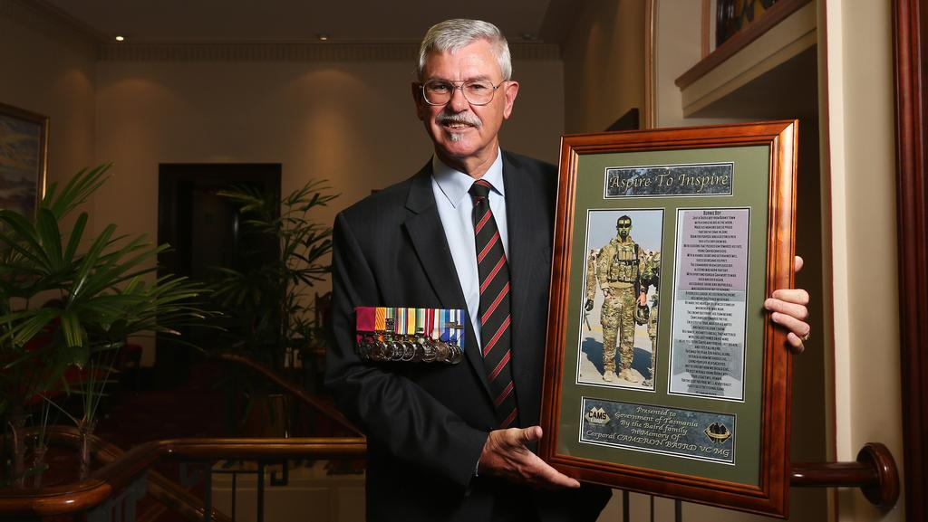 6282410a6d1a40 Proud father humbled by honour for son Cameron Baird | The Mercury