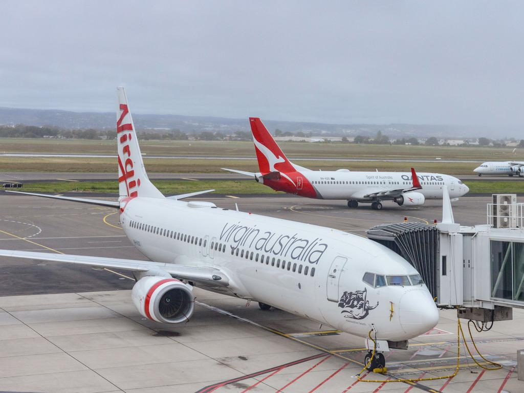 The infected Virgin employee had worked from October 4-6. Picture: NCA NewsWire /Brenton Edwards