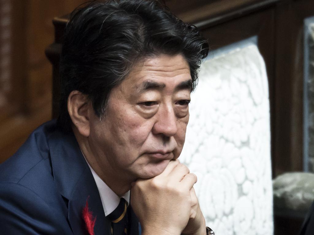 Japan's Prime Minister Shinzo Abe. Picture: Getty