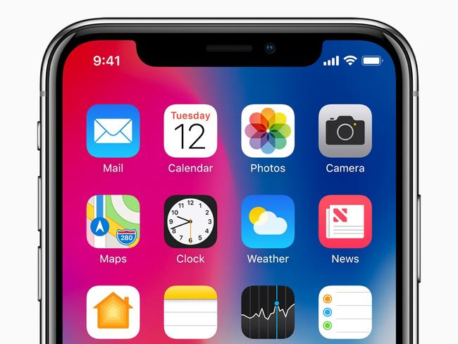 The iPhone X triggered lots of Google searches. Picture: Supplied