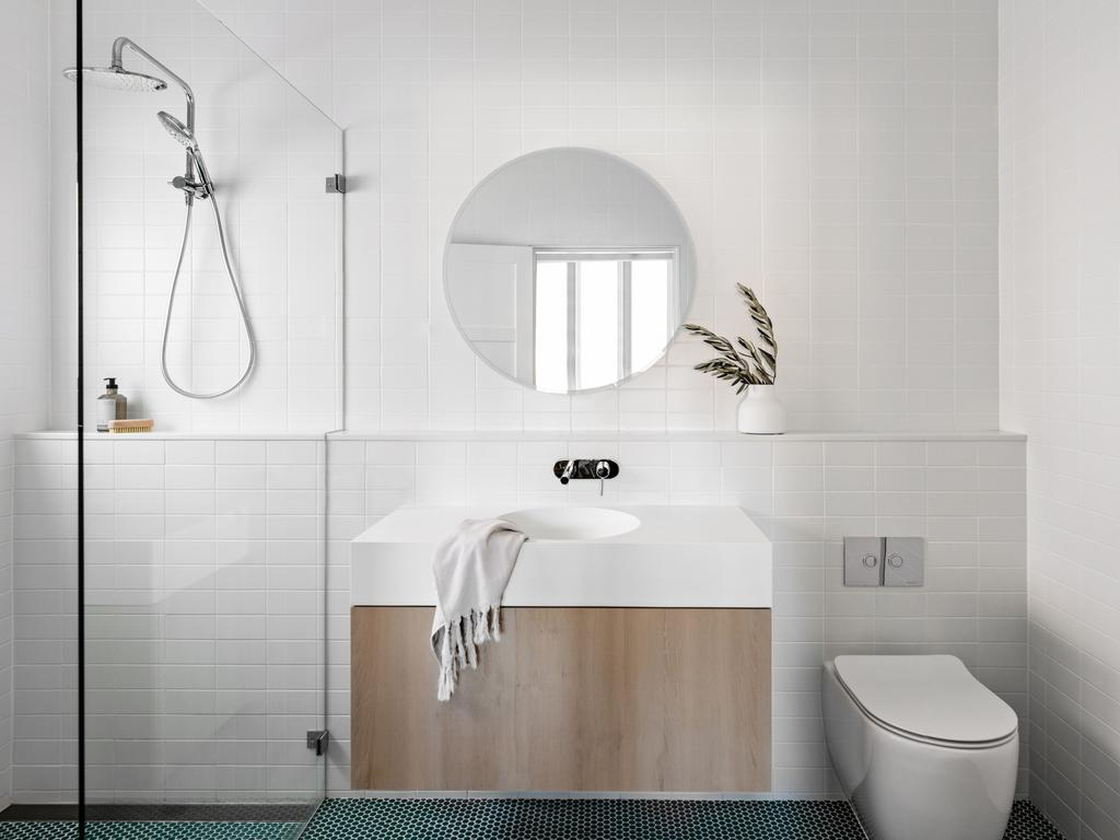 The new bathroom. Picture: The Palm Co