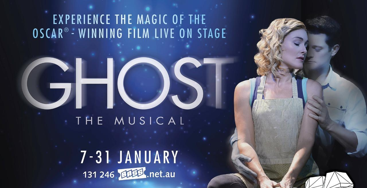 Ghost: The Musical now showing in Adelaide