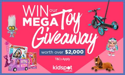 Win Kidspot's mega toy giveaway worth over $2,000!