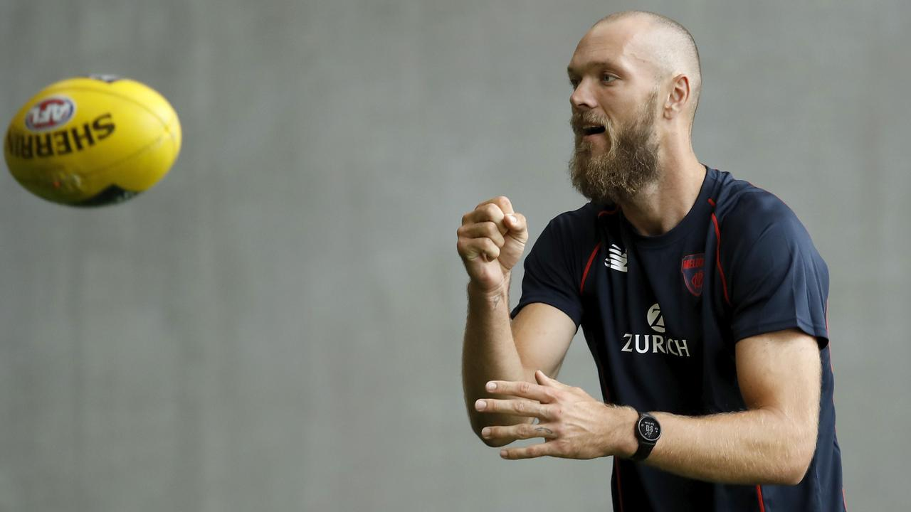 Melbourne ruckman Max Gawn had the highest KFC SuperCoach scoring average of any player in 2020.