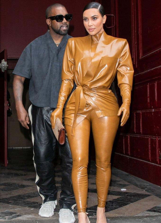 Kim Kardashian adidas Yeezy Samples |