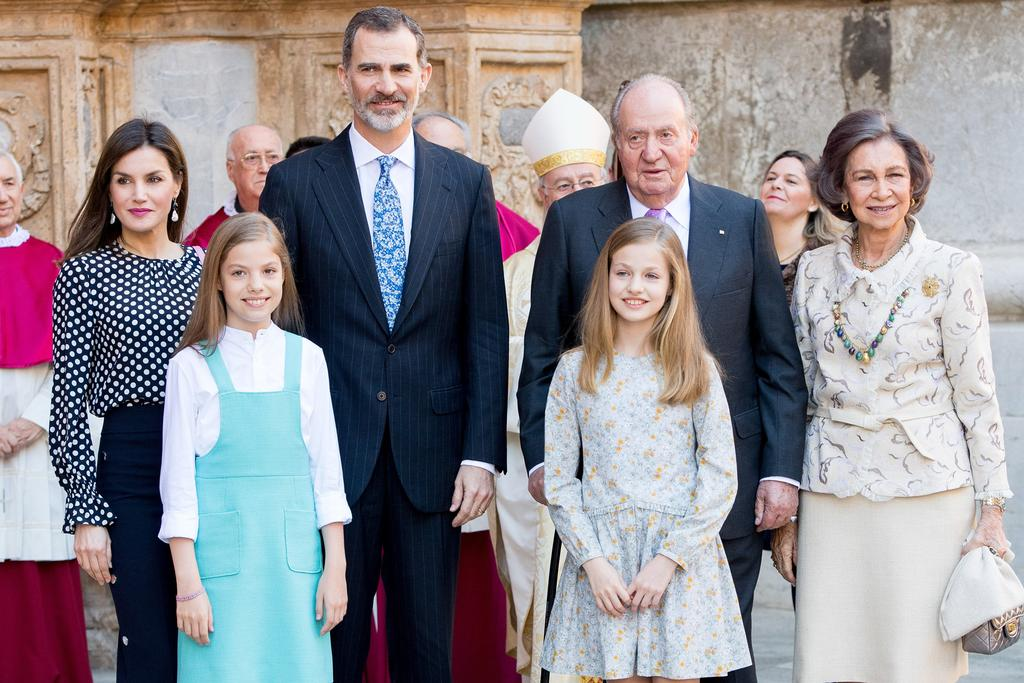 There appears to be a feud brewing in the Spanish royal family ...