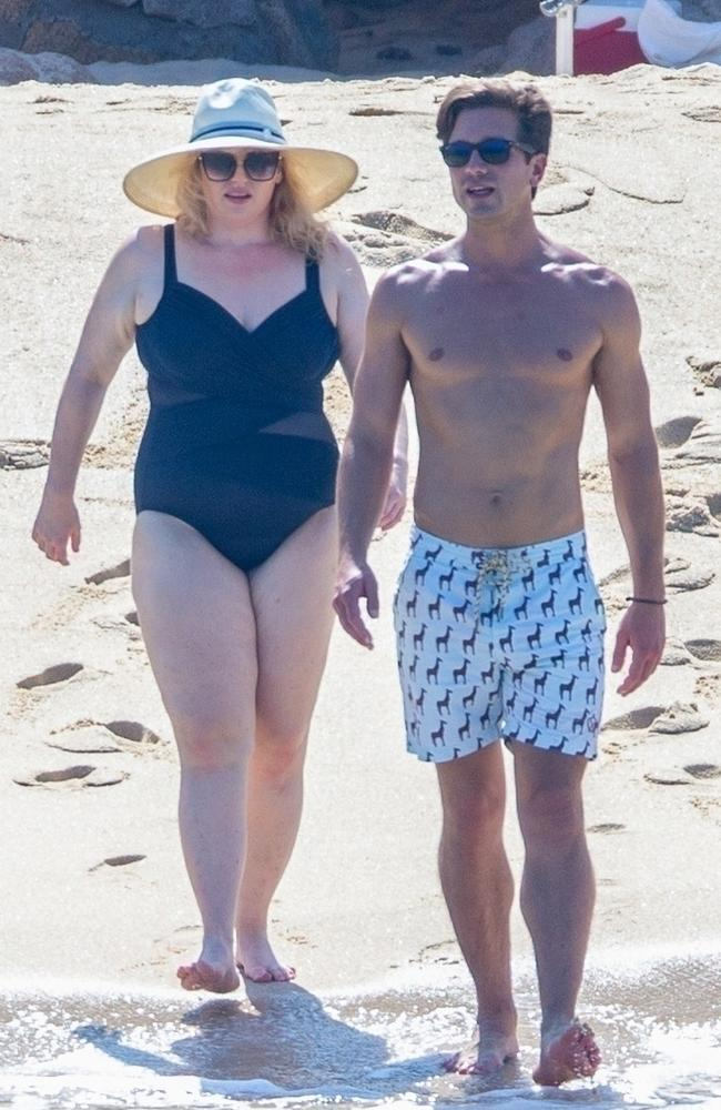 The couple escaped to Cabo in Mexico. Picture: Backgrid